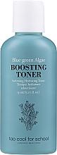 Düfte, Parfümerie und Kosmetik Tonisierendes und feuchtigkeitsspendendes Gesichtstonikum mit blaugrünen Algen, Lavendel- und Rosmarinöl - Too Cool For School Blue-Green Algae Boosting Toner