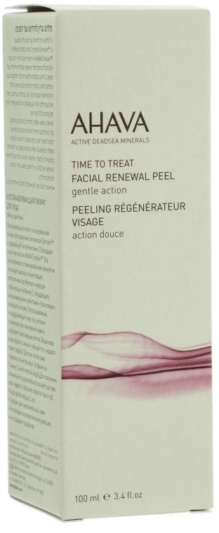 Sanftes regenerierendes Gesichtspeeling-Gel für einen strahlenden Teint - Ahava Time to Treat Facial Renewal Peel  — Bild N3