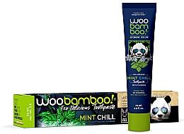 Düfte, Parfümerie und Kosmetik Pasta do zębów z miętą i fluorem - Woobamboo Mint Chill Toothpaste With Fluoride