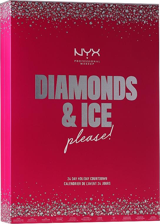 Make-up Palette - NYX Professional Makeup Diamond & Ice Advent Calendar Makeup Set