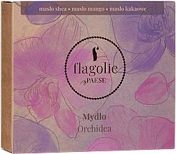 Düfte, Parfümerie und Kosmetik Natürliche Hand- und Körperseife Orchidee - Flagolie by Paese Orchid