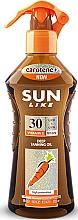 Düfte, Parfümerie und Kosmetik Bräunungsbeschleunigungsöl-Spray SPF 30 - Sun Like Deep Tanning Oil SPF 30 Pump