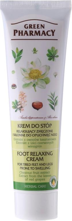 Entspannende Creme gegen müde und geschwollene Füße und Beine - Green Pharmacy