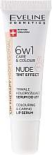 Düfte, Parfümerie und Kosmetik 6in1 Intensives Lippenserum - Eveline Cosmetics Lip Therapy Proffesional Tint