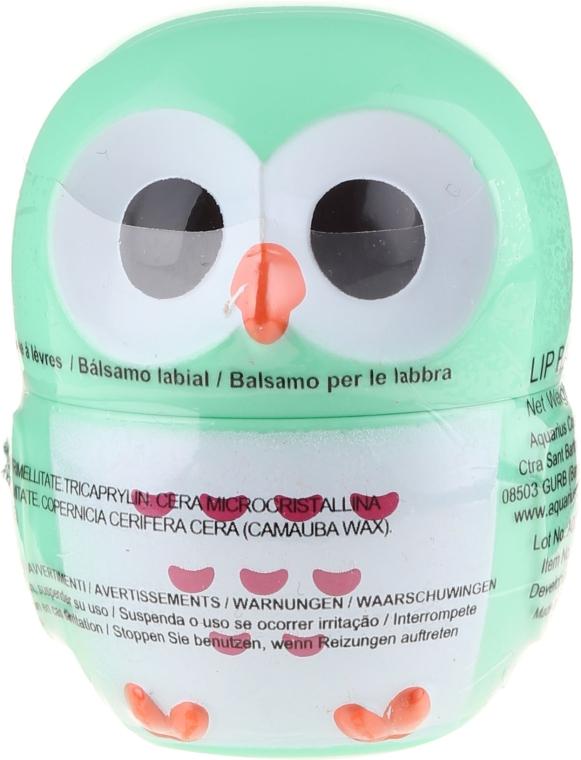 Lippenbalsam Eule grün - Martinelia Owl Lip Balm