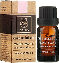 Düfte, Parfümerie und Kosmetik Ätherisches Ylang-Ylang-Öl - Apivita Aromatherapy Organic Ylang-Ylang Oil