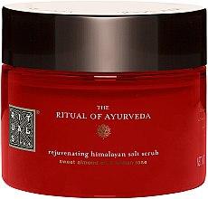 Düfte, Parfümerie und Kosmetik Reinigendes Körperpeeling mit Himalayasalz - Rituals The Ritual of Ayurveda Body Scrub