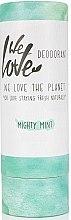 Düfte, Parfümerie und Kosmetik Erfrischender Deostick mit Minz- und Rosmarinduft - We Love The Planet Mighty Mint Deodorant Stick