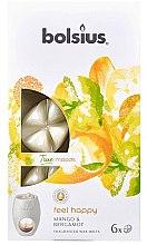Düfte, Parfümerie und Kosmetik Tart-Duftwachs Mango & Bergamot - Bolsius True Moods Feel Happy Mango & Bergamot