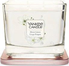 Düfte, Parfümerie und Kosmetik Duftkerze - Yankee Candle Elevation Sheer Linen