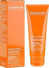 Düfte, Parfümerie und Kosmetik Anti-Aging Sonnenschutzcreme für den Körper SPF 30 - Darphin Soleil Plaisir Anti-Ageing Suncare SPF 30