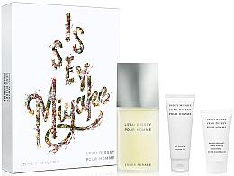 Düfte, Parfümerie und Kosmetik Issey Miyake Leau Dissey Pour Homme - Duftset (Eau de Toilette 125ml + Duschgel 75ml + After Shave Balsam 50ml)
