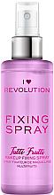 Düfte, Parfümerie und Kosmetik Make-up-Fixierer - Makeup Revolution Fixing Spray Tutti Frutti