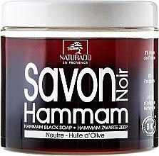 Düfte, Parfümerie und Kosmetik Schwarze Seife mit Olivenöl - Naturado Black Soap Hammam With Olive Oil