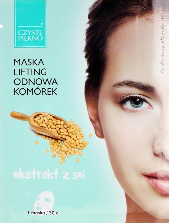 Gesichtsmaske mit Sojabohnenextrakt - Czyste Piekno Lifting Face Mask