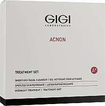 Düfte, Parfümerie und Kosmetik Gesichtspflegeset - Gigi Treatment Set (Gesichtsreinigungsgel 100ml + Nachtcreme 50ml + Gesichtstonikum 120ml)