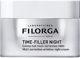 Düfte, Parfümerie und Kosmetik Korrigierende Anti-Falten Nachtcreme für das Gesicht - Filorga Time-filler Night Cream