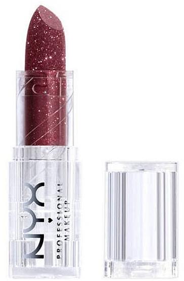 Pomadka do ust z drobinkami - NYX Professional Makeup Diamonds & Ice Please Lipstic