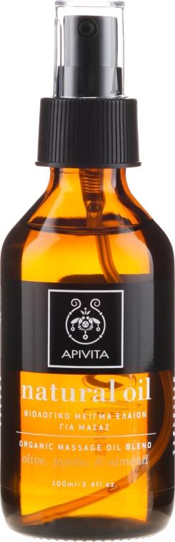 Bio-Massageölmischung - Apivita Organic oil blend — Bild N2
