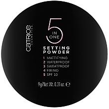 Düfte, Parfümerie und Kosmetik Gesichtspuder - Catrice 5 in 1 Setting Powder