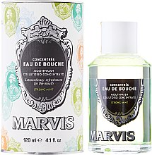 Düfte, Parfümerie und Kosmetik Mundspülung mit starkem Minzgeschmack - Marvis Concentrate Strong Mint Mouthwash