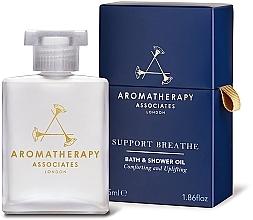 Düfte, Parfümerie und Kosmetik Erfrischendes Bade- und Duschöl - Aromatherapy Associates Support Breathe Bath & Shower Oil