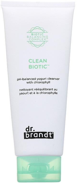 Reinigende und balancierende Gesichtscreme mit Chlorophyll - Dr. Brandt Clean Biotic Cream