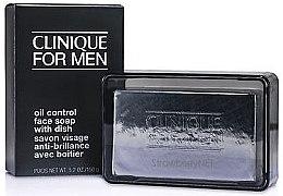 Düfte, Parfümerie und Kosmetik Gesichtseife mit Schale - Clinique For Men Oil Control Face Soap