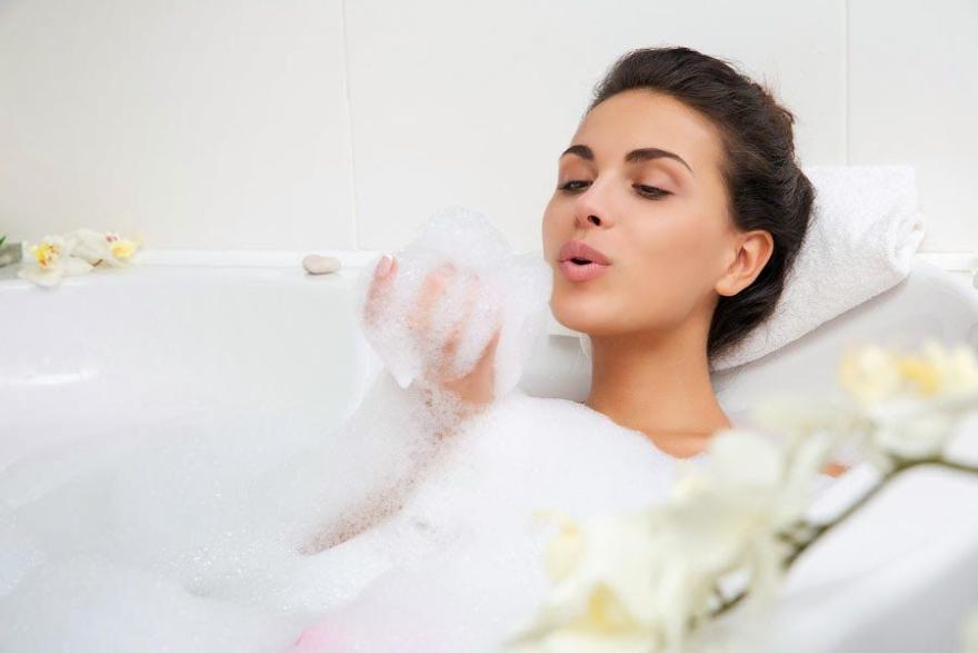 Badeschaum mit Bio Laminarien und Mineralien - Organic Shop Organic Laminaria and Minerals Dead Sea Bath Foam — Bild N2