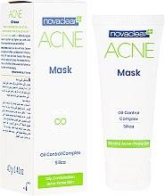 Düfte, Parfümerie und Kosmetik Mattierende Gesichtsmaske für fettige und zu Akne neigende Haut - Novaclear Acne Mask