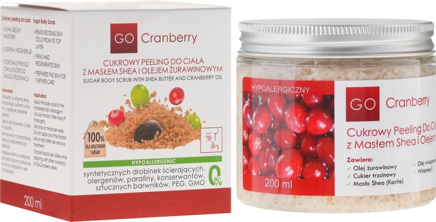 Zucker-Körperpeeling mit Sheabutter und Moosbeere - GoCranberry