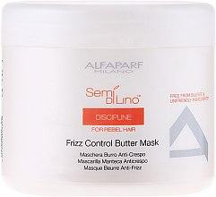 Düfte, Parfümerie und Kosmetik Haarmaske für widerspenstiges Haar - Alfaparf Semi di Lino Discipline Frizz Mask