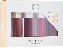 Düfte, Parfümerie und Kosmetik Ofra To: Me Mini Liquid Lipstick Set - Lippenpflegeset (Flüssiger Lippenstift 4x1g)