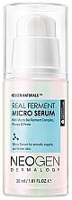 Düfte, Parfümerie und Kosmetik Regenerierendes Gesichtsserum mit Panthenol und Kollagen - Neogen Dermalogy Real Ferment Micro Serum