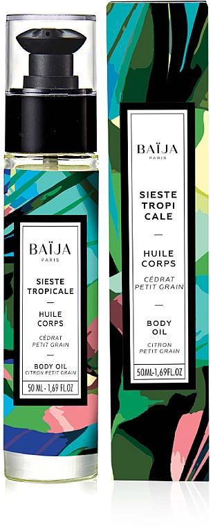 Aufweichendes parfümiertes Körper- und Badeöl - Baija Sieste Tropicale Body & Bath Oil — Bild N1