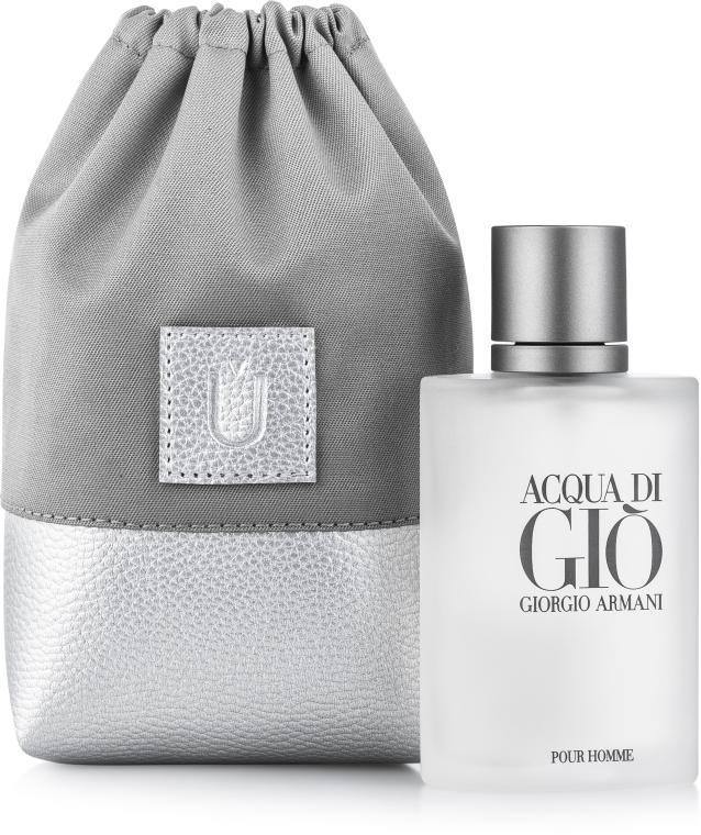 Geschenkbeutel für Parfüm Perfume Dress grau - MakeUp