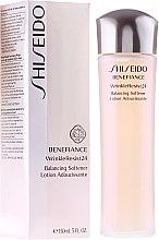 Düfte, Parfümerie und Kosmetik Aufweichende Anti-Falten Gesichtslotion - Shiseido Benefiance WrinkleResist24 Balancing Softener Adoucissante