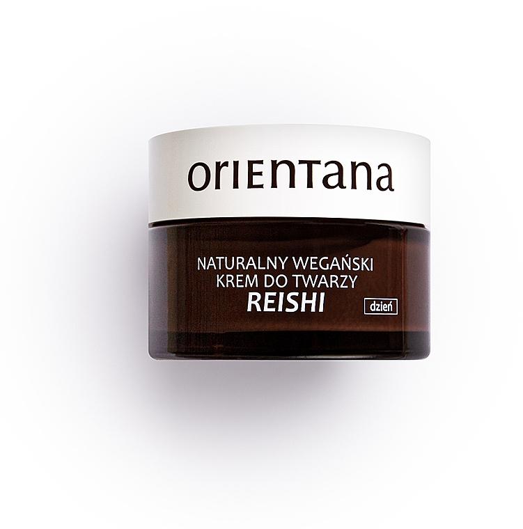 Natürliche vegane Tagescreme mit Reishiextrakt - Orientana Reishi Cream