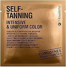 Düfte, Parfümerie und Kosmetik Selbstbräuner-Tücher intensiv - Comodynes Self-Tanning Intensive & Uniform Color