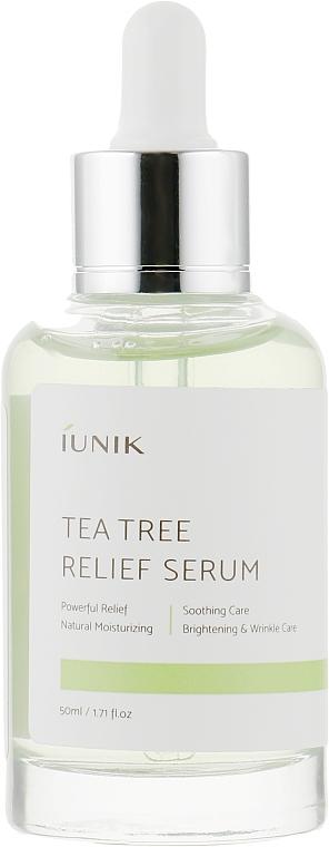 Beruhigendes Gesichtsserum mit Teebaumextrakt - iUNIK Tea Tree Relief Serum