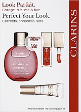 Düfte, Parfümerie und Kosmetik Make-up Set - Clarins Fix Make Up Set (Lippenöl 7ml + Fixierspray 50ml + Make-up Base 10ml)