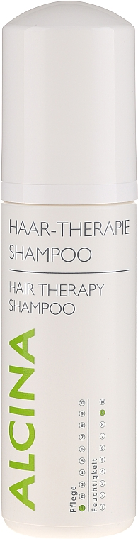 Mildes Shampoo für Haar und Kopfhaut - Alcina Hair Care Haar Therapie Shampoo — Bild N1
