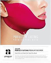 Düfte, Parfümerie und Kosmetik Straffende Anti-Doppelkinn Gesichtsmaske rosa - Avajar Perfect V Lifting Premium Plus Mask