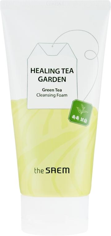 Gesichtsreinigungsschaum mit grünem Tee - The Saem Healing Tea Garden Green Tea Cleansing Foam