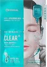 Düfte, Parfümerie und Kosmetik Anti-Pickel Gesichtsmaske mit Hyaluronsäure - Mediheal Capsule 100 Bio Seconderm Clear Alpha 2 Step Face Mask