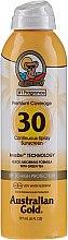Düfte, Parfümerie und Kosmetik Sonnenschutzspray für den Körper mit grünem Tee SPF 30 - Australian Gold Premium Coverage Spf30