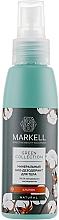 Düfte, Parfümerie und Kosmetik Mineralisches Bio Deospray mit Baumwolle - Markell Cosmetics Green Collection Deo Cotton