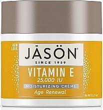 Düfte, Parfümerie und Kosmetik Regenerierende Gesichts- und Körpercreme mit Vitamin E - Jason Natural Cosmetics Age Renewal Vitamin E