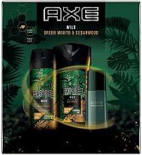 Düfte, Parfümerie und Kosmetik Axe Wild - Duftset (Deospray 150ml + Duschgel 250ml + Eau de Toilette 50ml)