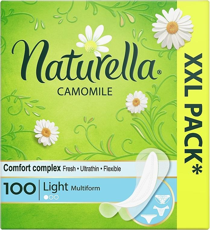 Slipeinlagen mit Kamille - Naturella Camomile Light